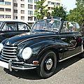 DKW 3=6 type F93 cabriolet