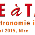 XI édition de l'ITALIE <b>à</b> <b>TABLE</b> <b>à</b> NICE DU 28 AU 31 MAI 2015