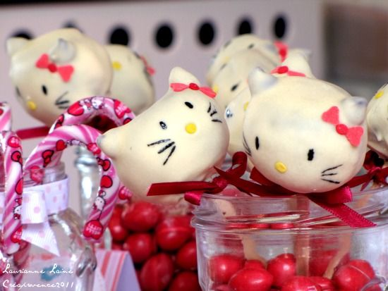 How to... make Hello Kitty Cake Pops - Red Ted Art's Blog