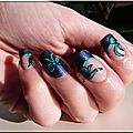 Nail art <b>noeud</b> <b>noeud</b> :p