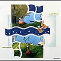 <b>Quend</b>-Plage-les-Pins 2011 - Un petit canard au bord de l'eau ...