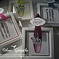 PETITS CADEAUX JOURNEE CREATIVE STAMPIN'UP !