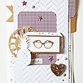 Equipe Créa Sokai // Carte Tarascrap // Scrapbooking - Loisirs Créatif