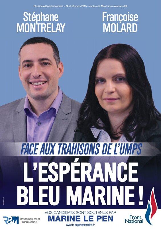 MSV Stéphane Montrelay et Françoise Molard