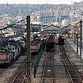 SOTTEVILLE LES <b>ROUEN</b>: LE PLUS GRAND CIMETIERE FERROVIAIRE DE FRANCE
