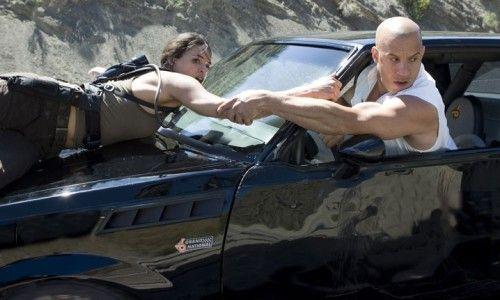 Michelle Rodriguez et Vin Diesel