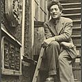 Exhibition of paintings, sculptures and <b>drawings</b> by Alberto Giacometti opens in London