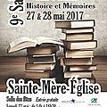 <b>Salon</b> du <b>livre</b> de Sainte-Mère-Eglise