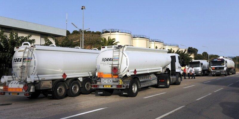 Camions de carburant