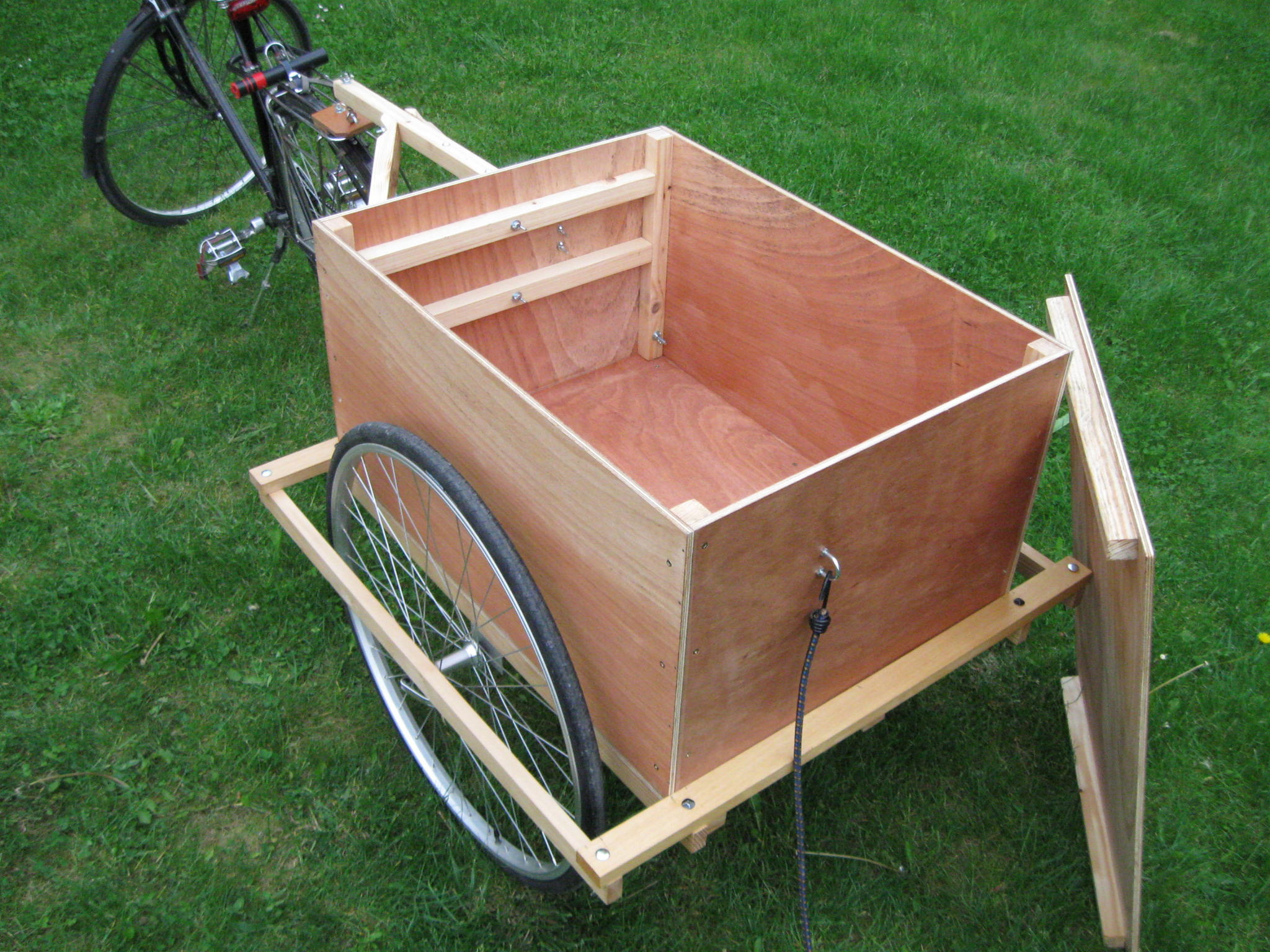 Remorque En Bois Pour Vélo promotion  123 remorque