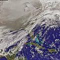 Le vortex polaire qui recouvre les USA est la conséquence du déplacement du pôle Nord magnétique