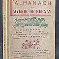 L'<b>Almanach</b> de l'avenir de Bernay / <b>Almanach</b> pour 1939
