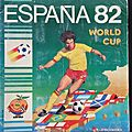 Album ... Football <b>Panini</b> World cup Espagne 82