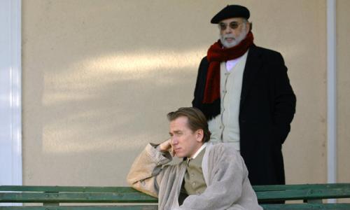 Tim Roth et Francis Ford Coppola sur le tournage