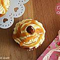 cupcake gourmand <b>caramel</b>