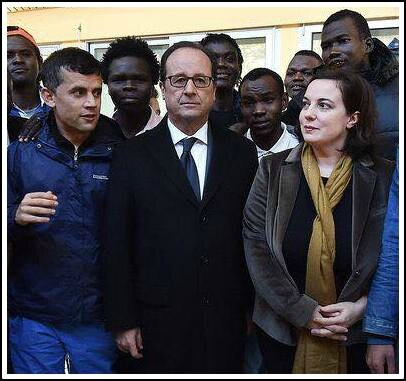Hollande migrants