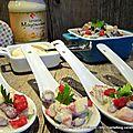 Salade de haricots rouges pour un défi cuisine avec la Mayonnaise Lesieur
