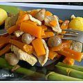 Porc, pomme de terre <b>carotte</b>
