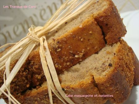cake mascarpone et noisettes 1