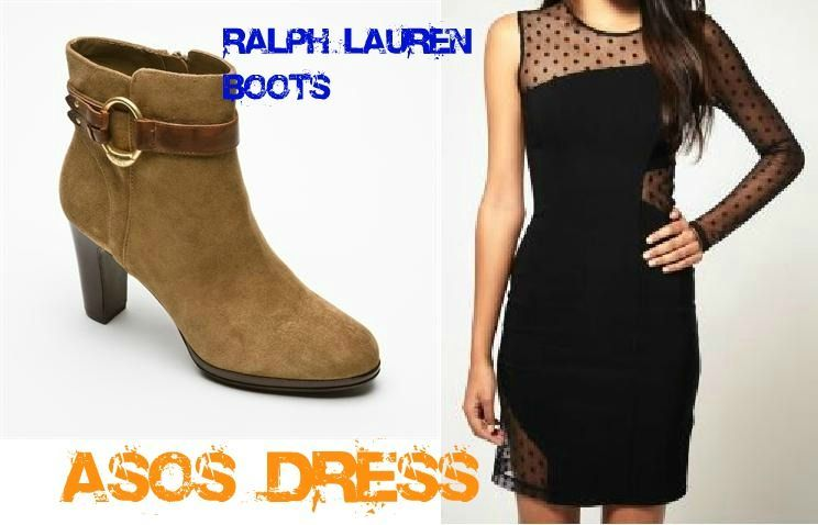 boots rl et asos dress novembre 2011