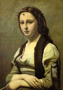 Corot portrait 2