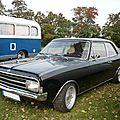<b>OPEL</b> Rekord C 1700L berline 2 portes 1971