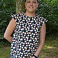 La blouse Austen citronnée