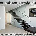 escalier métallique,escalier double limon,escalier limon central,escalier beton ciré,decoupe de marches pour escalier metallique