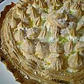 Ma <b>tarte</b> au <b>citron</b> <b>meringuée</b>