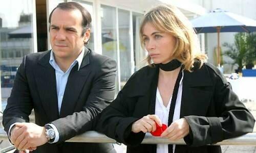 François-Xavier Demaison et Emmanuelle Béart