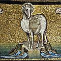 Symbolique de l'agneau et du berger chez saint Jean, ajouts iconographiques
