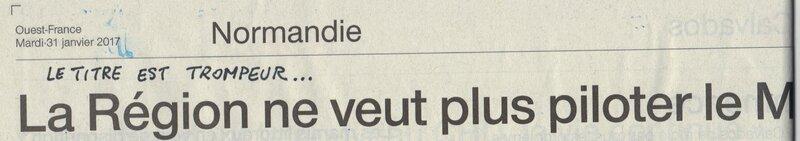 GOUVERNANCE FUTUR du MT ST MICHEL: IL FAUT NORMANDISER!