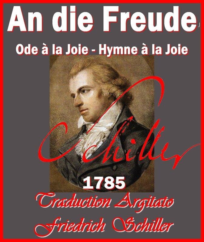 An di Freude Schiller Hymne à la Joie Ode à la Joie Friedrich Schiller par Ludovike Simanowiz Traduction Française Artgitato