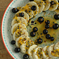 Cet été, j'ai profité des <b>fruits</b> pour réaliser des <b>assiettes</b> colorées !