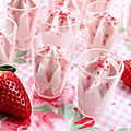 Mousse de fraises <b>Label</b> <b>Rouge</b>