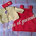 RISETTES ET GAZOUILLIS couture et tricot