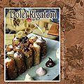 Dolci rigatoni Pâtes farcies sucrées à déguster avec les doigts
