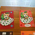 cartes faites par les enfants