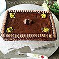 Gâteau au Chocolat comme un <b>Brownie</b>