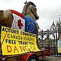 L'<b>Accord</b> de libre-échange Union européenne–Canada est inacceptable et dangereux