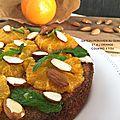 Gâteau Péruvien au Quinoa et à l'<b>orange</b>