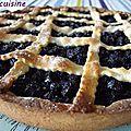 Ma tarte aux <b>myrtilles</b>
