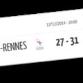 J14: Cesson 27-31 Sélestat, Les violets térrassent les Bretons...