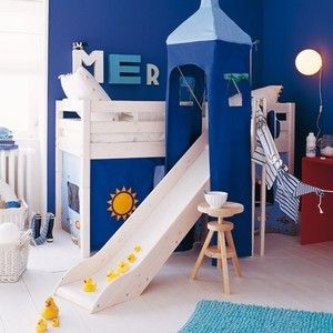 lit cabane pour enfants. Black Bedroom Furniture Sets. Home Design Ideas