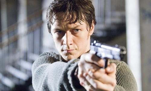 JAMES MCAVOY dans WANTED