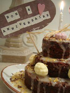 mini gâteau à étages choco _ citron GREENWEEZ 2