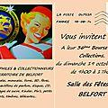36ème Bourse Toutes Collections le 19 octobre 2014; la Rentrée des collectionneurs