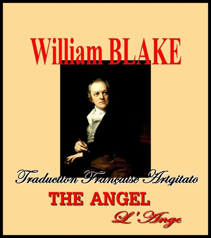 The Angel William Blake par Thomas Phillips Traduction Artgitato française L'ANGE