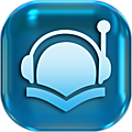 L'<b>acteur</b> lit des audio books