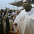 2000 - Olusegun Abasanjo est élu président du Nigéria